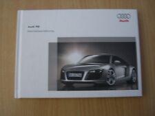 Instrucciones Servicio Manual De Instrucciones Audi R8 Salida 03.2007