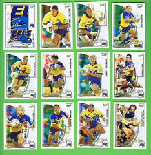 2002  PARRAMATTA EELS  SELECT NRL CHALLENGE RUGBY LEAGUE CARDS