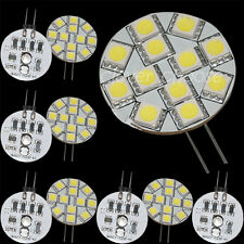 10 x G4 12 5050-SMD Cabinet Marine Boat Reading LED Light Bulb 10V-24V 15*12lm