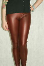 All sizes back in stock SEXY BURGUNDYSTRETCHY Rubber feel  HIGH WAIST  LEGGINGS