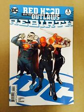 RED HOOD AND THE OUTLAWS REBIRTH #1 VARIANT 1ST PRINT DC COMICS (2016) BATMAN