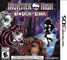 NINTENDO 3DS MONSTER HIGH GHOUL IN SCHOOL BRAND NEW VIDEO GAME