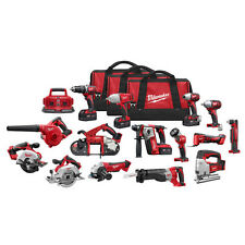 Milwaukee M18 18V Li-Ion 15-Tool Combo Kit 2695-15 New