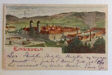 CPA. EINSIEDELN. Suisse. Précurseur. 1898. Le Couvent. Das Kloster