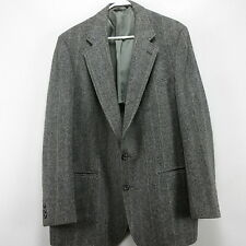 Mens Blazer Sport Coat Wool Gray Cricketeer 44R