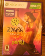 Zumba Fitness (Microsoft Xbox 360, 2010) Exercise Work Out Game KINECT