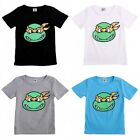 TMNT Kids Baby Boys Short Sleeve Summer Tops T-shirt Casual Age 2-7 Years
