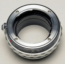 Nikon F AF-S G DX Lens to SONY E mount adapter NEX-7 5T 6 3N  A7 A7R A6000