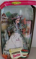 1995 MATTEL SECOND EDITION PIONEER BARBIE NO.14756 AMERICAN STORIES COLLECTION