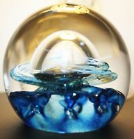 Caithness Glass Paperweight Quicksilver Colin Terris
