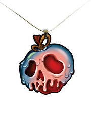 Snow White Poison Apple Necklace - Evil Queen