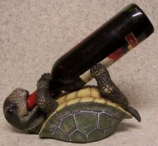 Wine Bottle Holder and/or Decorative Sculpture Turtle NEW
