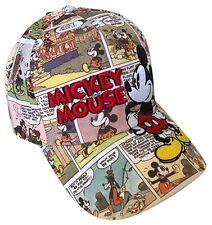 Disney Mickey Mouse Comic Strap Back Adult Baseball Hat Cap Brand New