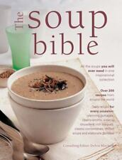 NEW The Soup Bible by Debra Mayhew Hardcover Recipes Cookbook Stew