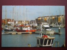POSTCARD B15 SUSSEX YACHTING AT SOVERIGN HARBOUR EASTBOURNE