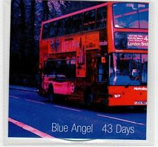 (EC949) Blue Angel, 43 Days - 2013 DJ CD