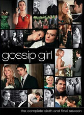 Gossip Girl: Complete Season 6 Box Set DVD Series six New