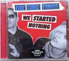 The Ting Tings - We Started Nothing (CD, 2008, Columbia)
