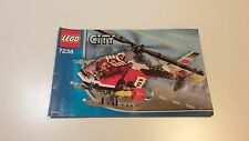 LEGO CITY !! INSTRUCTIONS ONLY !! FOR 7238 FIRE HELICOPTER