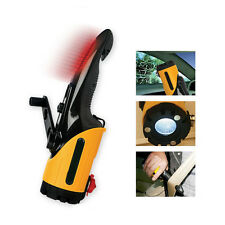 Car Hand Rechargeable LED Light Torch Blade Emergency Warning Rescue Escape Tool
