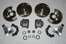 1962-74 Mopar B E Body Disc Brake Spindles & Caliper Kit Chrysler Dodge Plymouth