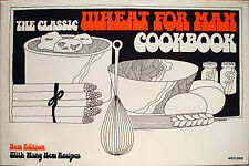 Vintage Cookbook THE CLASSIC WHEAT FOR MAN COOKBOOK 1975 stone ground flour