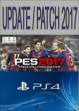 PES 2017 PS4 THE BEST & BIGGEST OPTION FILE - TEAMS, STRIPS ETC - ON 8GB USB