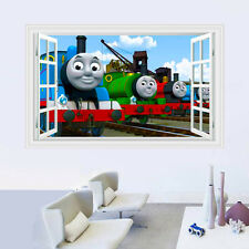 Cartoon Movie Thomas 3D Window Wall Sticker Vinyl Art Decal Kids Baby Room Decor