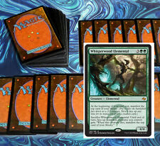 mtg GREEN FEROCIOUS MANIFEST DECK Magic the Gathering rare cards
