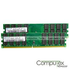 New Samsung DDR2 8GB RAM KIT (2x4GB) PC2-6400 800 Mhz 240pin For AMD Motherboard