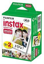 New FujiFilm Instax Mini Instant Film 20 count Total 10 sheets 2 Pack Mini Twin