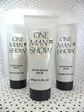 3 One Man Show by Jacques Bogart  AFTER SHAVE BALM 6.8 oz each - NEW@