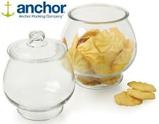 Anchor Hocking 99190 Glass Coffee Cookie Biscuit Jar Container Storage & Lid