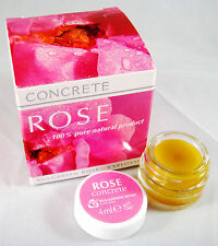 Rose concrete oil butter 100% Pure Natural Product, Bulgarian,Rosa Damascena 4ml