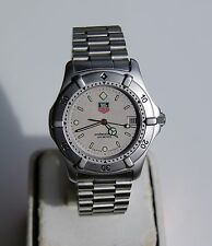 NICE MENS STAINLESS STEEL TAG HEUER WRISTWATCH  962.206R