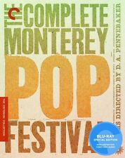 Complete Monterey Pop Festival [Criterion Collec Blu-ray Region A