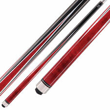 McDermott Star Pool Cue Stick - S3 - Red Stain - 18 19 20 21 oz W/ FREE CASE