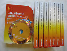 MICROSOFT Office 2010 Home and Business FULL RETAIL versione t5d-00159 t5d-00295