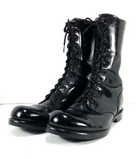 Corcoran 1500 Cap Toe Combat Boots Leather Black Mens 11.5 D Military Jump Boots