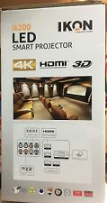 Digital Projector + LED Smart Projector Ik200 + HD Home Theater System