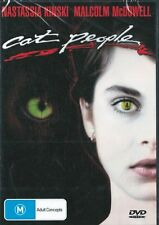CAT PEOPLE - NATASSIA KINSKI & MALCOLM MCDOWELL - NEW & SEALED REGION 4 DVD