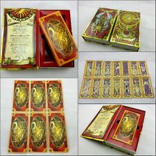 Japanese Anime Captor Sakura Clow 56 Tarot Cards Clow Book Set Cosplay Props