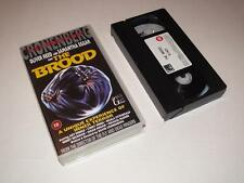 VHS Video ~ The Brood ~ Cronenberg ~ Oliver Reed / Samantha Eggar ~ Video Gems