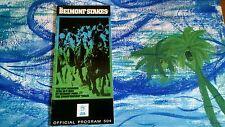 1989 Belmont Stakes Program Easy Goer Sunday Silence Horse Racing