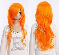 W-273 ONE PIECE NAMI n. 2 Jahren COSPLAY orange 65cm Perücke ANIME Wig hitzefest