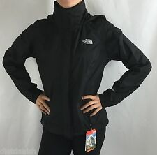 The North Face Women's Resolve Hooded Jacket Black Hyvent Waterproof NWT Size L