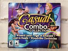 casual combo collection --- 4 challenging adventure computer games --- new