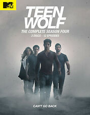 Teen Wolf . The Complete Season 4 . Tyler Posey . Crystal Reed . 3 DVD . NEU OVP