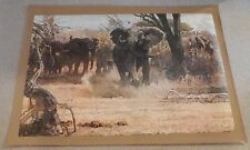 """AUTHENTIC ARTAGRAPH OIL PAINTING""""SHOW OF FORCE""""BY ROBERT KUHN SIGNED # 47/1000"""