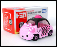 TOMICA DREAM HELLO KITTY STRIPE RIBBON DIECAST CAR TOMY 2014 New